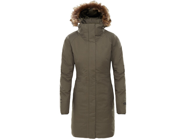 The North Face Arctic II Jas Dames olijf